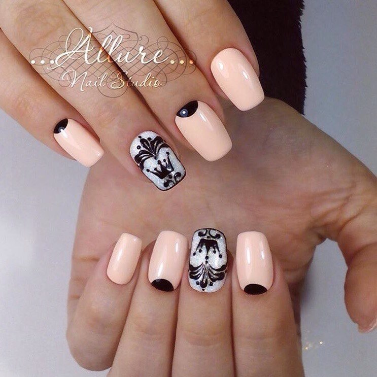 Nail art 1599 best nail art designs gallery bestartnails beige nails prinsesfo Choice Image