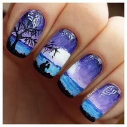 Beautiful nail colors photo