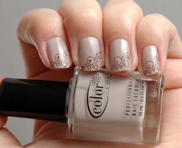 Beige nails - Nail Art #1602 - Best Nail Art Designs Gallery BestArtNails.com