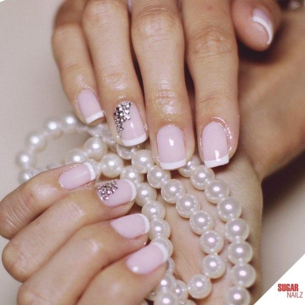 wedding nail polish photo