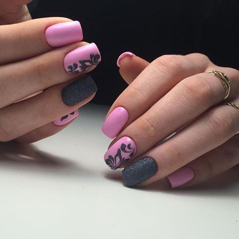 Winter 2017 fashion colours - Nail Art 1656 Best Nail Art Designs Gallery