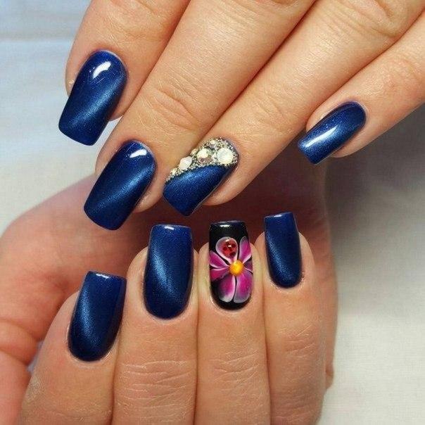 Iridescent nails - The Best Images | BestArtNails.com