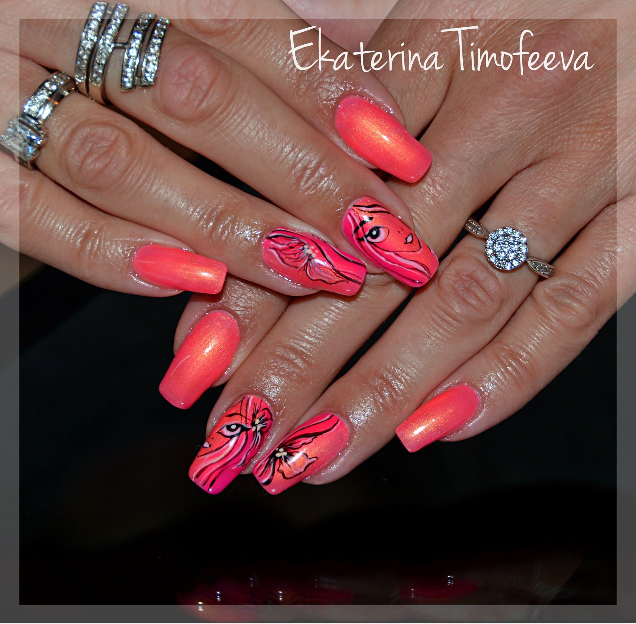 Guest nail art 18 best nail art designs gallery bestartnails summer nails prinsesfo Choice Image