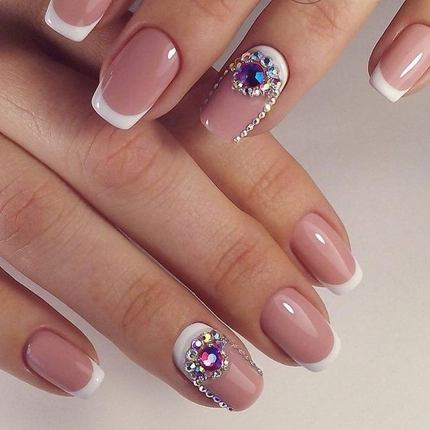 Nail art in pink color nails gallery nail art in pink color pictures prinsesfo Gallery