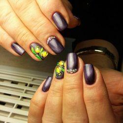 Cat eye nails photo