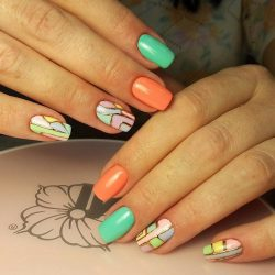 Beautiful nail colors photo