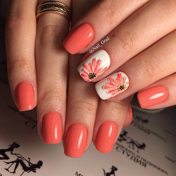 Coral Nails The Best Images Bestartnails