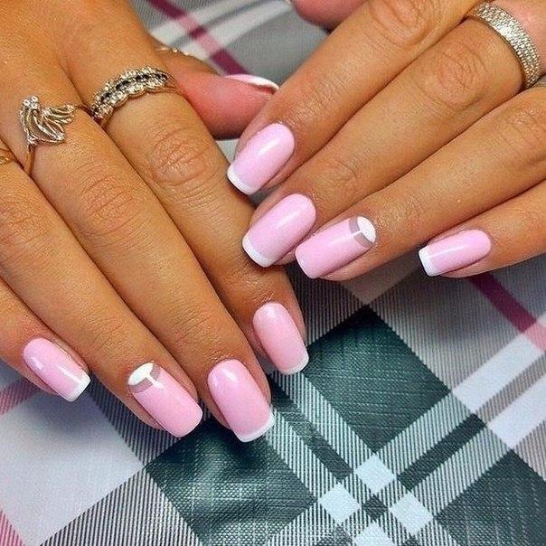 Красивые нарощенные ногти гель лак