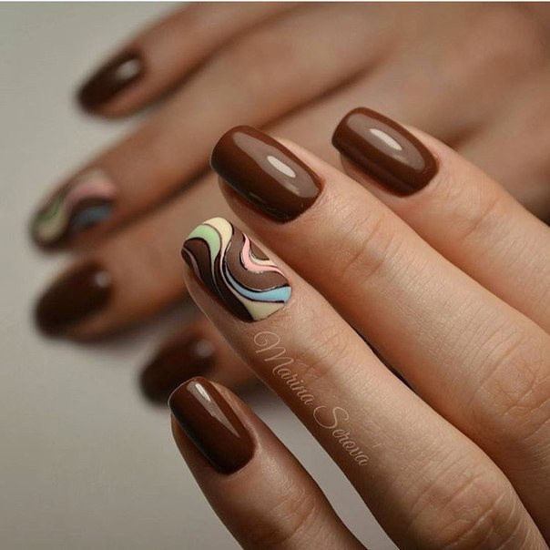Autumn nails - Nail Art #1808 - Best Nail Art Designs Gallery BestArtNails.com