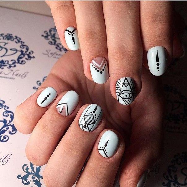 Indian nails - The Best Images | BestArtNails.com