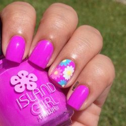 Bright gel polish for nails photo