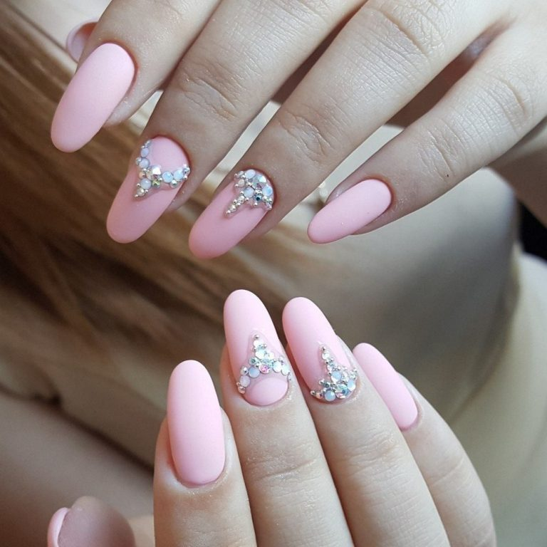 Oval French manicure - The Best Images | Page 2 of 4 | BestArtNails.com