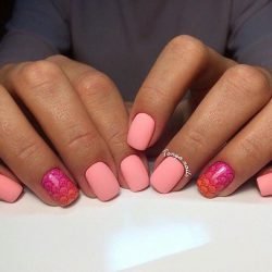 Water nails photo