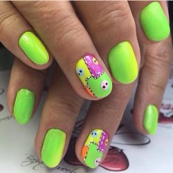 Children nails ideas photo
