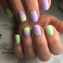 Fashion nails 2016 photo