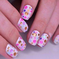 Droplet nails photo