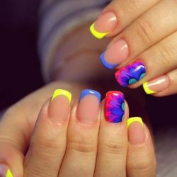 Summer nails 2016 photo