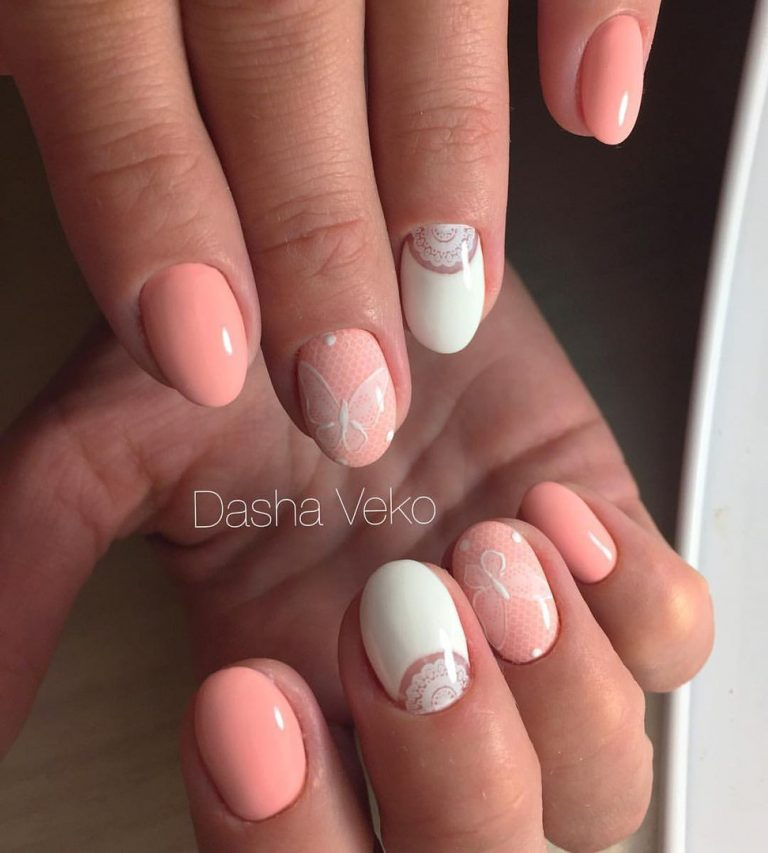 Peach nails photo - Peach Nails - The Best Images BestArtNails.com