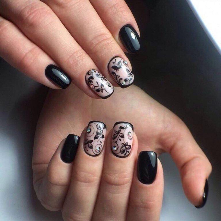 Дизайн ногтей гель лаком градиент новинки  2018 100