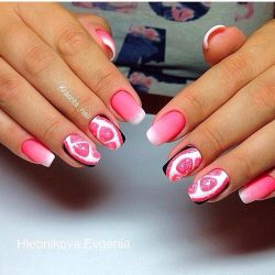 Juicy summer nails photo