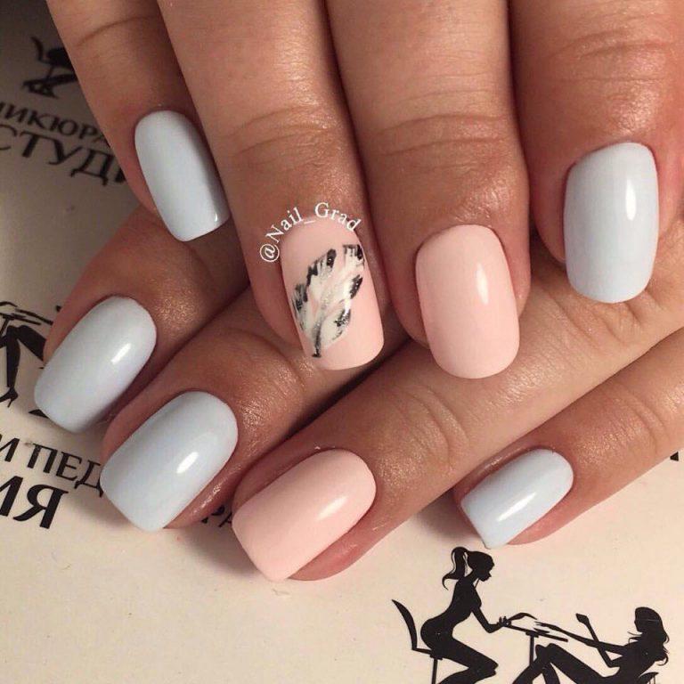 Дизайн ногтей 2017 новинки нежно розовый