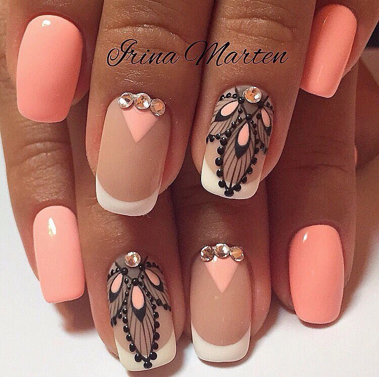 Nail art 2205 best nail art designs gallery bestartnails french nails prinsesfo Images