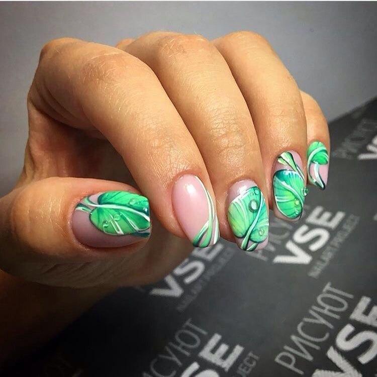 Tropical nails - The Best Images | BestArtNails.com