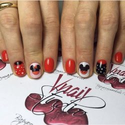 Short nails for kids photo