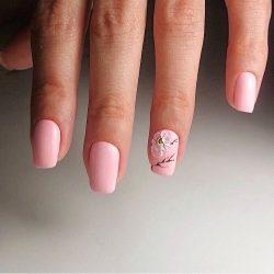 Acrylic nails photo