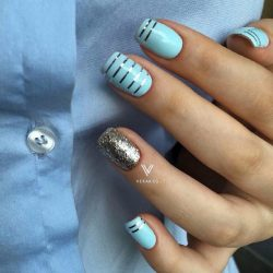 Jeans nails photo