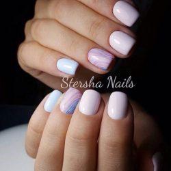 Marble nails photo