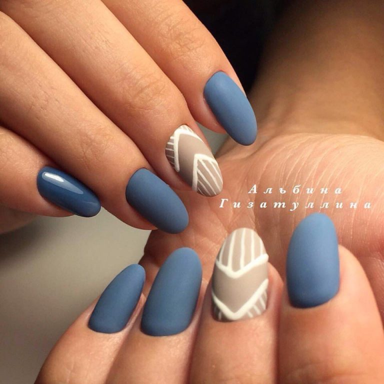 Shades of blue nails - The Best Images | BestArtNails.com