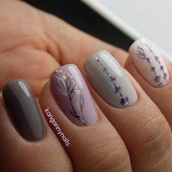 Fashion fall nails photo