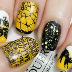 Cobweb nails photo
