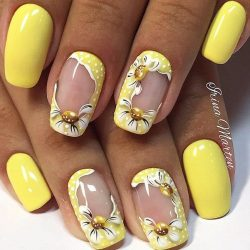 Trendy nails photo
