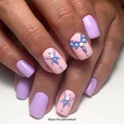 Summer nail art photo