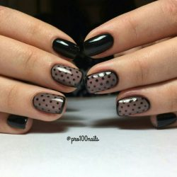 Night nails photo