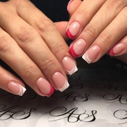 French manicure news 2017 photo