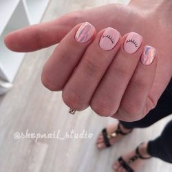 Beach nails photo