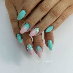 Summer sea nails photo