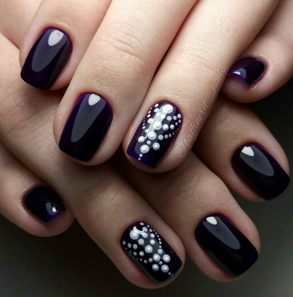 Dark purple nails - The Best Images | Page 2 of 3 | BestArtNails.com