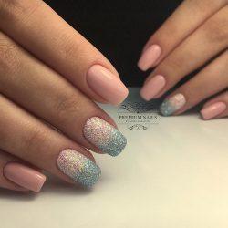 Fashion ombre nails photo