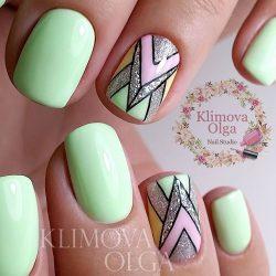 Beautiful summer nails photo