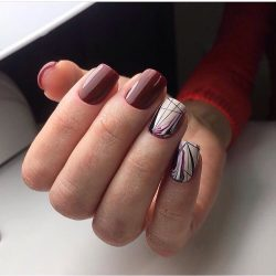 Painted nail designs photo