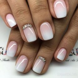 Ideas of gradient nails photo