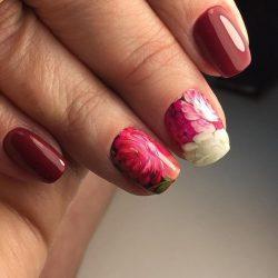 Glossy nails photo