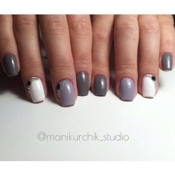 Classic nails ideas photo