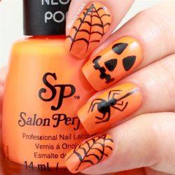Cobweb nails photo