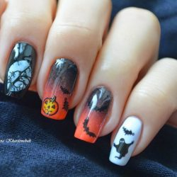 Ghost nails photo