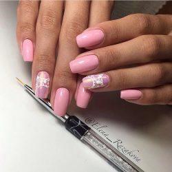 Natural nails photo